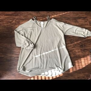 zenergy by chico's green long sleeve